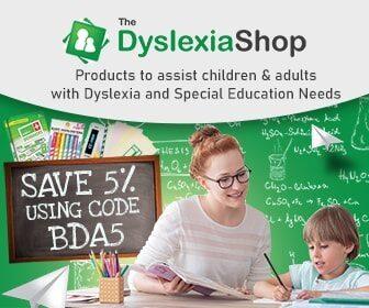 Advertisement: The Dyslexia Shop